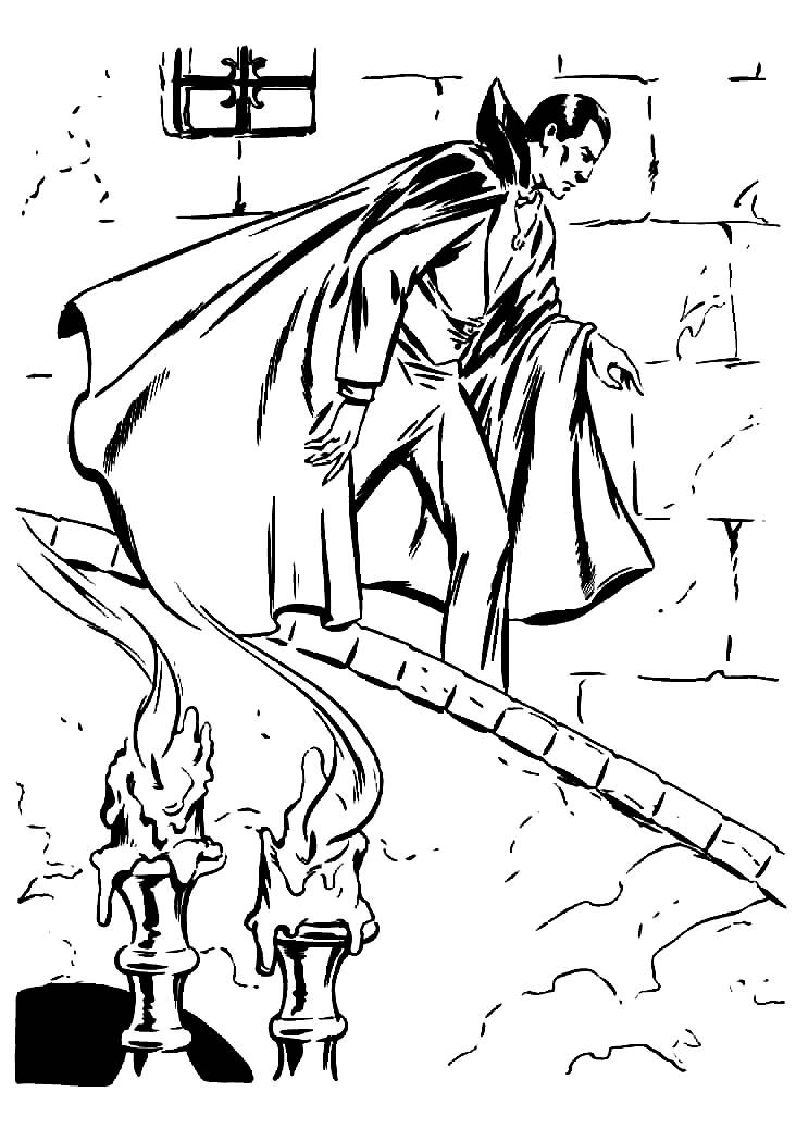 free coloring pages of universal monsters